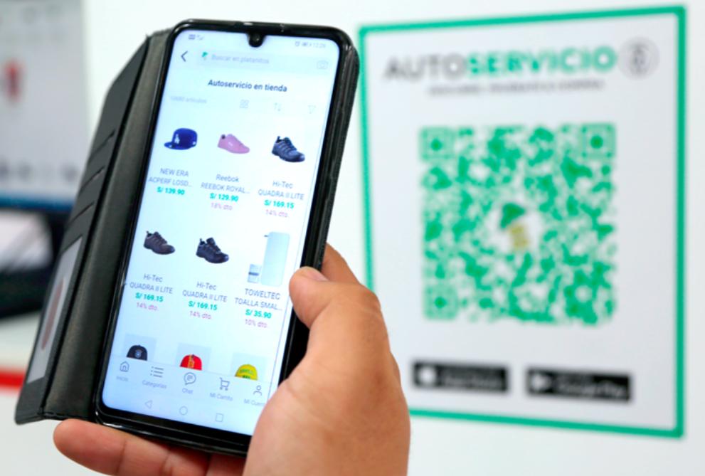 Platanitos incorpora el autoservicio en sus tiendas físicas en Perú