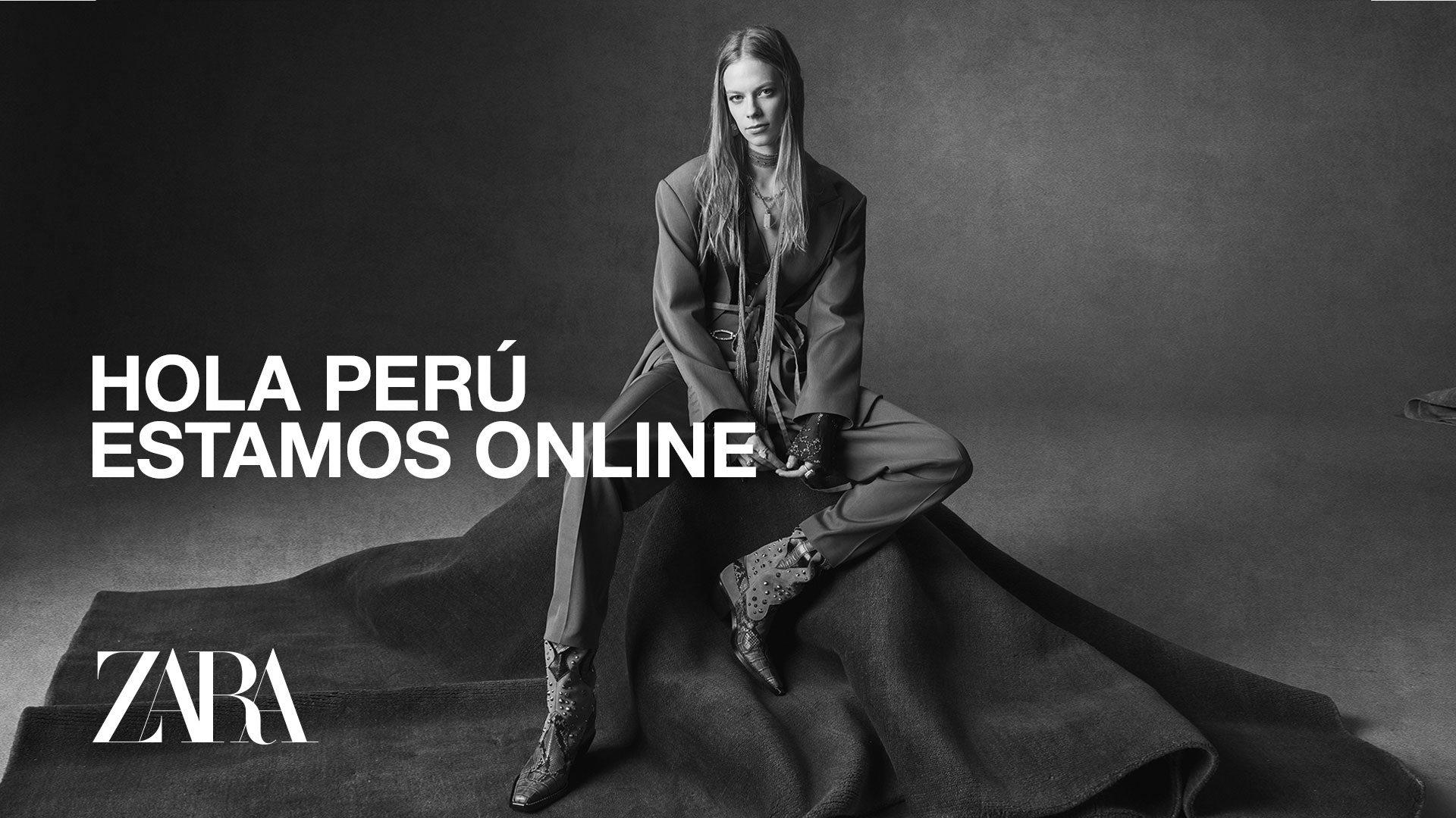 Zara presenta su tienda en línea en Perú