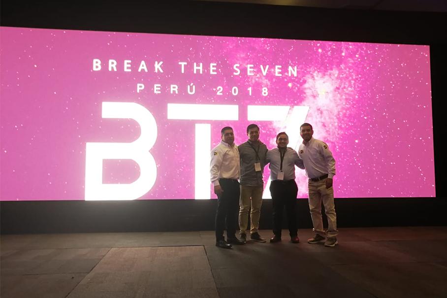 Evento Break The Seven