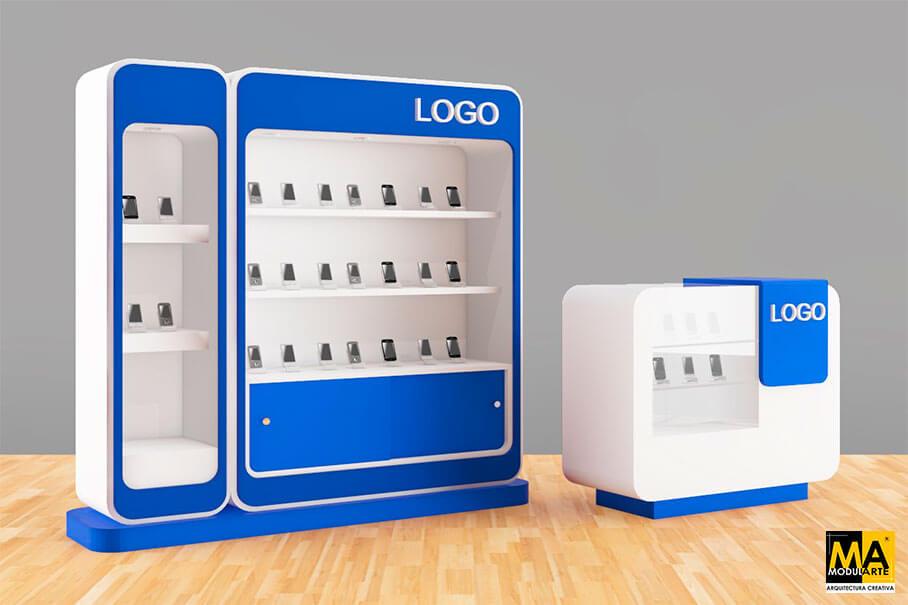 Cellphone Exhibition Module