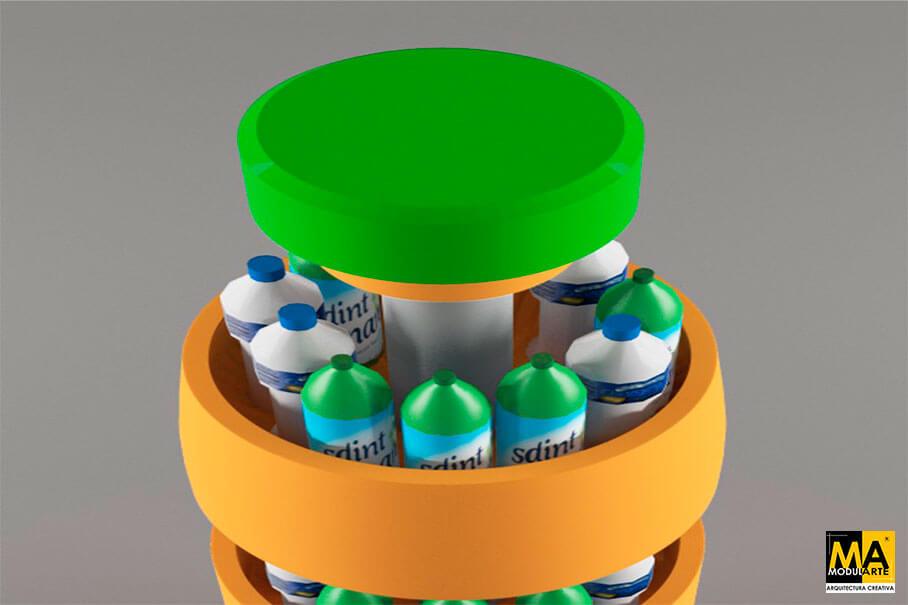 Diseño de POP para Bebidas