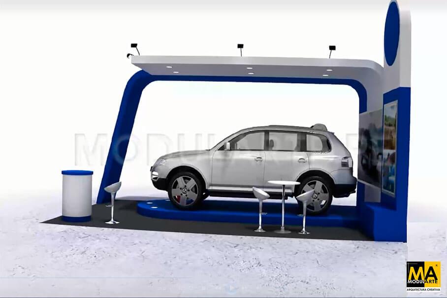 Diseño de Stand Automotriz