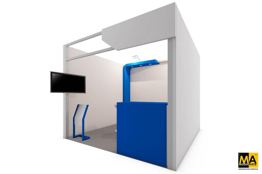 Diseño de Stand para Feria