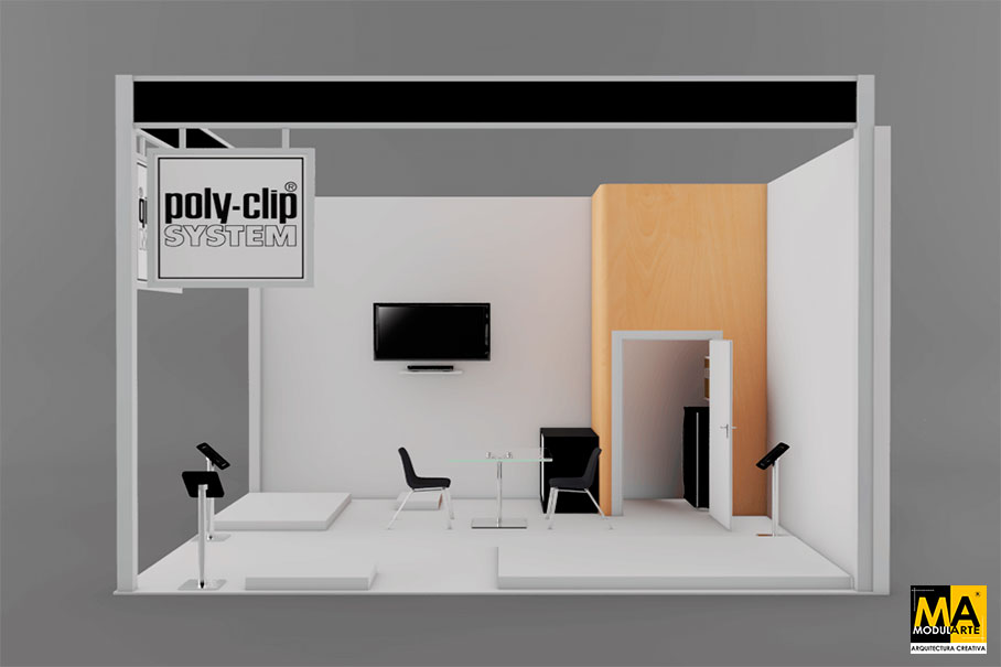 Poly Clip Stand Design