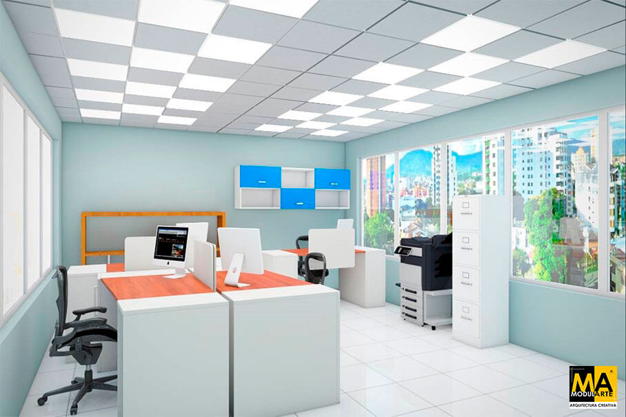 Office Design and Restyling 6x5 m
