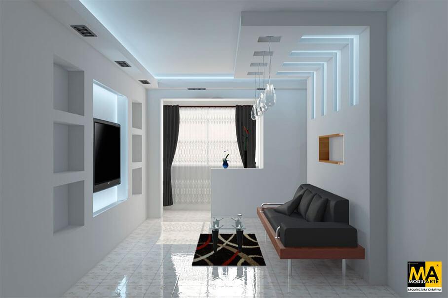 Diseño y Remodelación de Sala