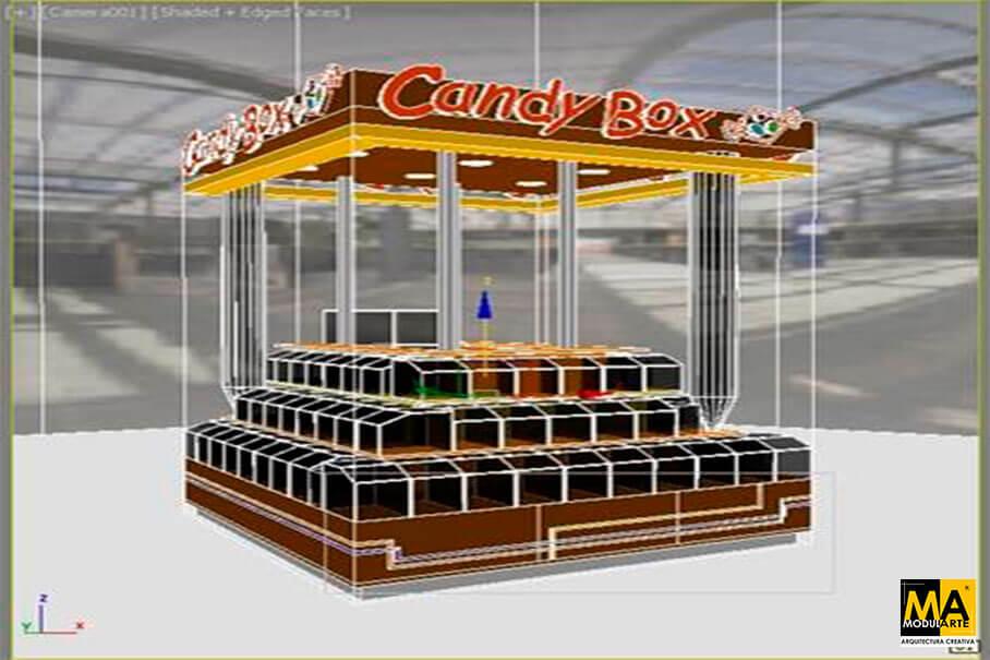 Isla Centro Comercial Candy Box