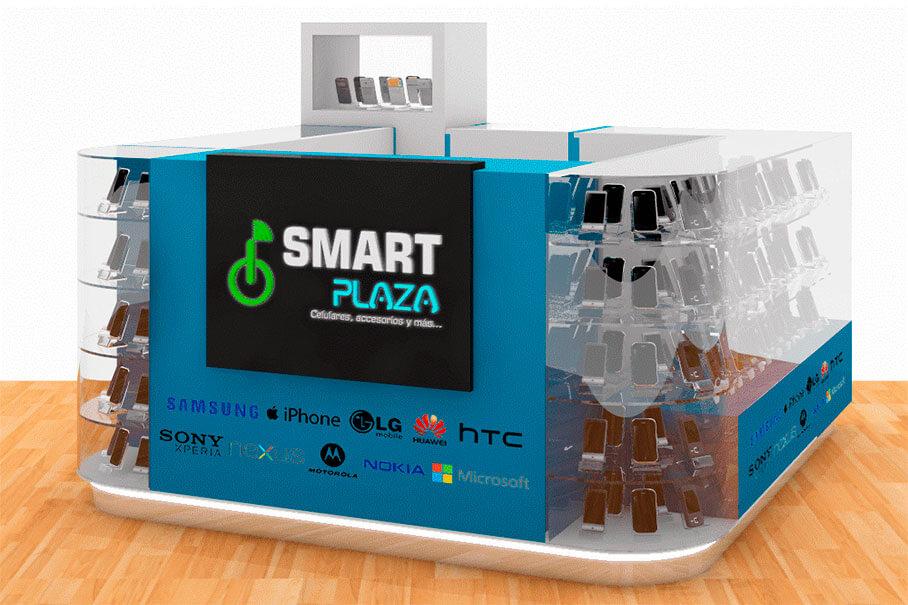 Isla Comercial Smart Plaza