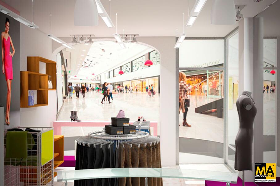 Clothe Store 7x5 m