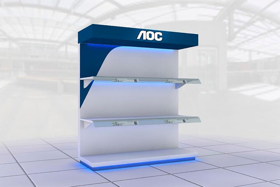 Mueble de Exhibición AOC