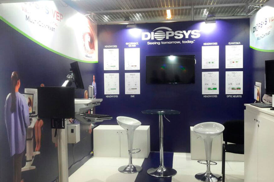 Diopsys Stand PAAO 2017 Fair