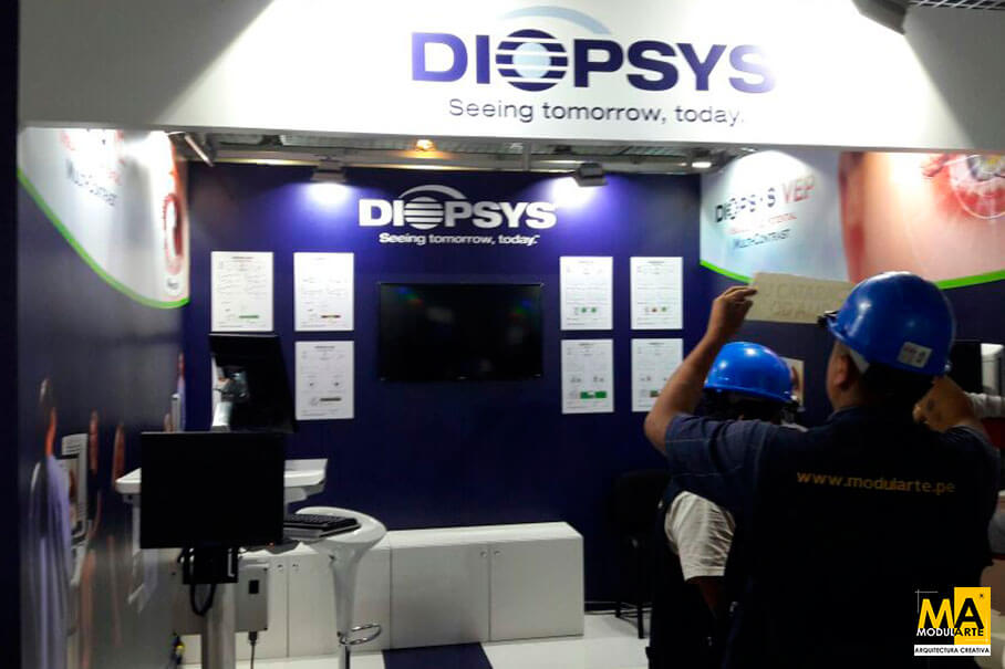 Stand Diopsys Feria PAAO 2017
