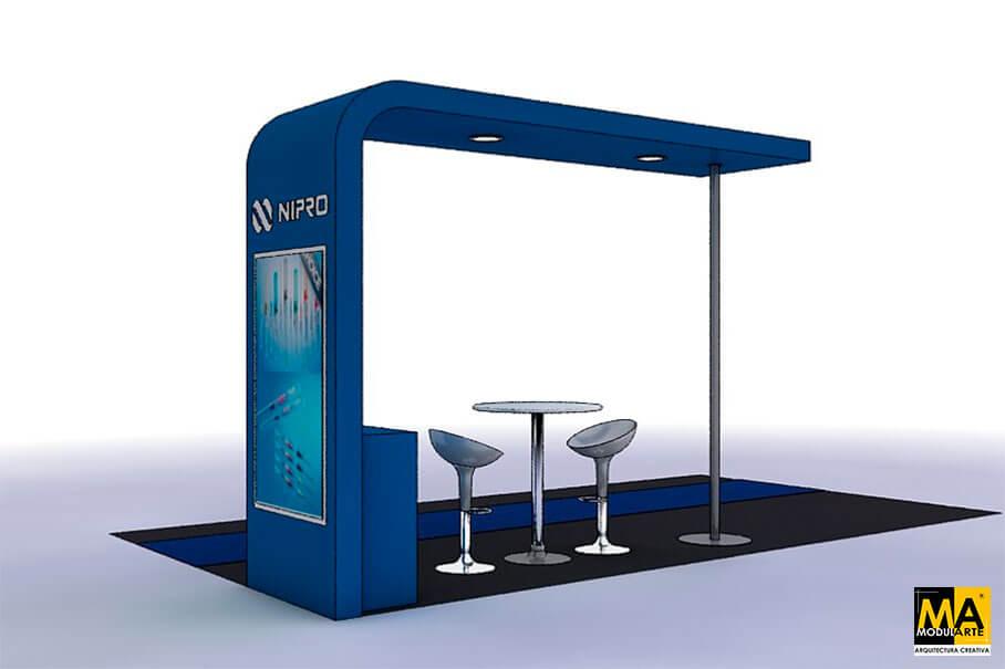 Stand NIPRO Congreso Peruano de Tecnología Médica