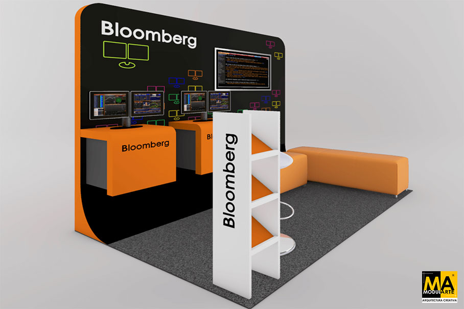 Stand para Feria BLOOMBERG
