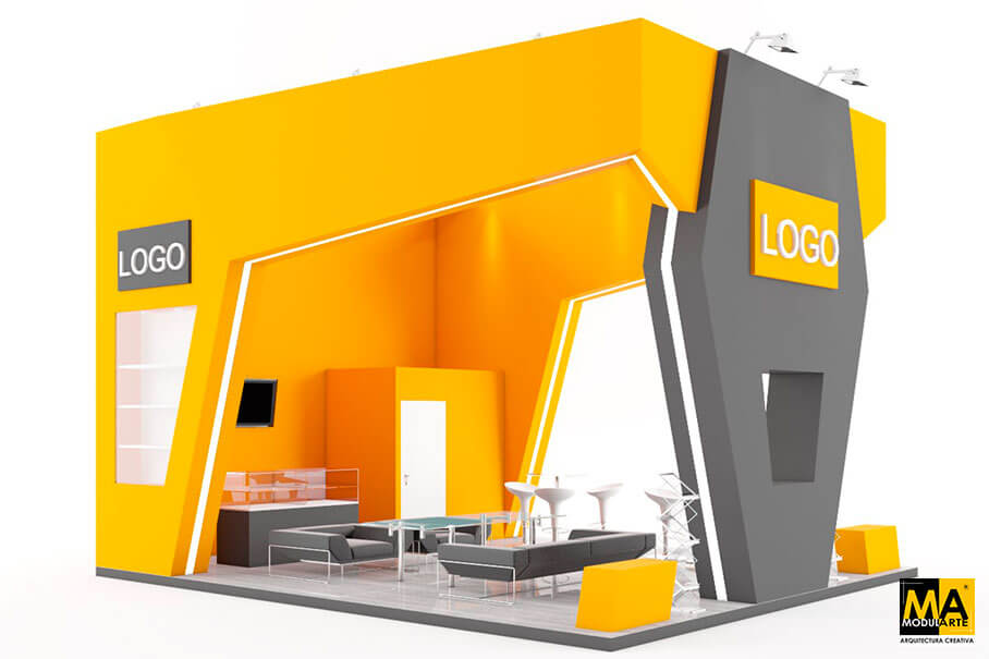 Stand Design for Fairs 6x5 m