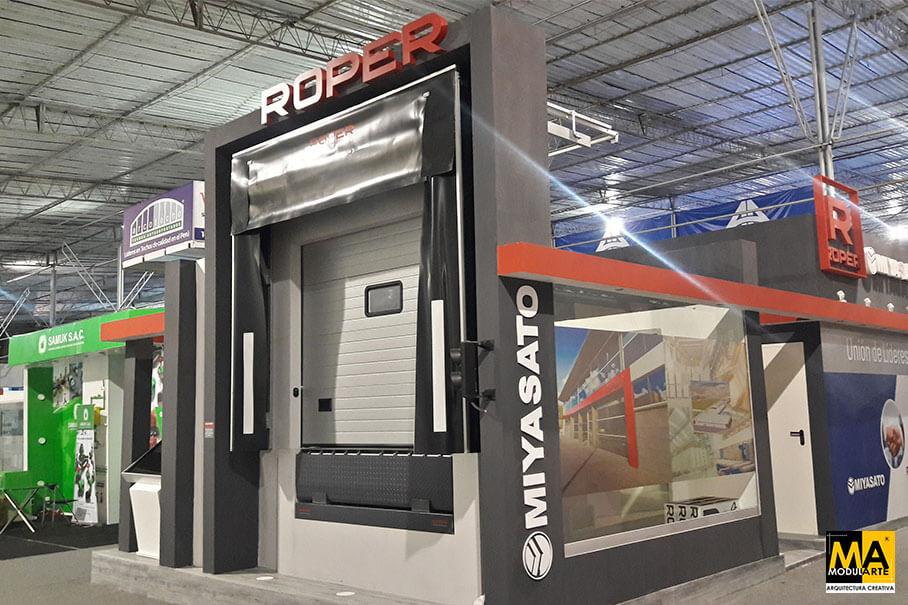 Stand Puertas Roper Corporacion Miyasato