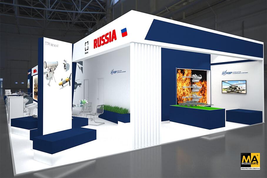 Stand Rosoboronexport RUSIA (Pentagonito 2019)