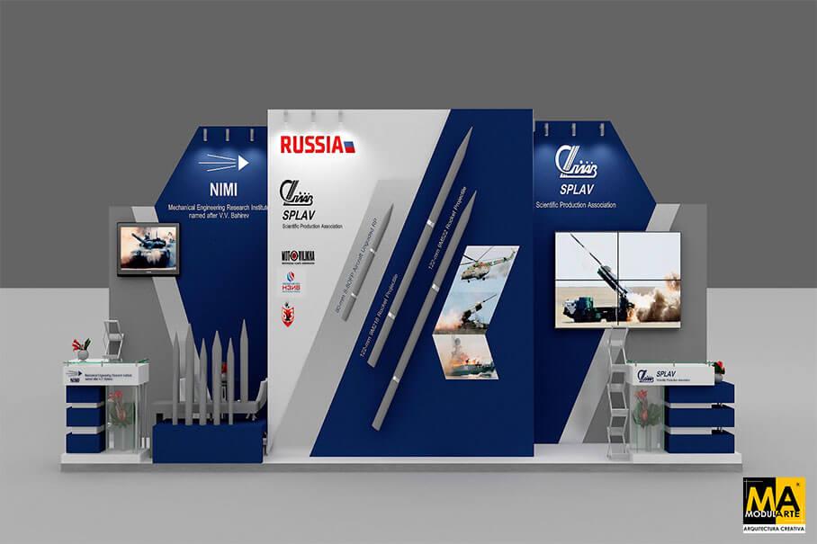 Stand Rusia Feria SITDEF 2017