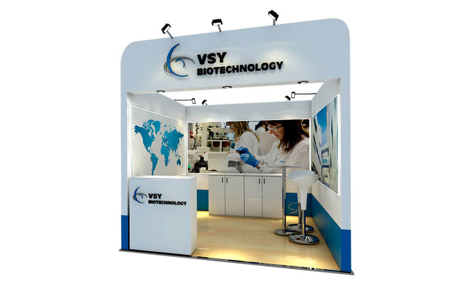 VSY Biotechnology Stand PAAO 2017 Fair